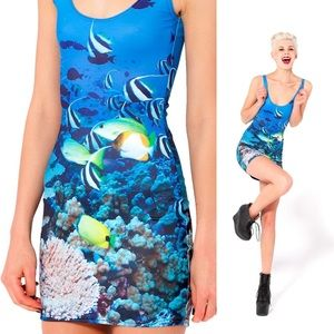 Blackmilk Reef Bodycon Mini Dress S Sold Out